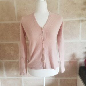 Banana Republic Pink Cashmere Sweater